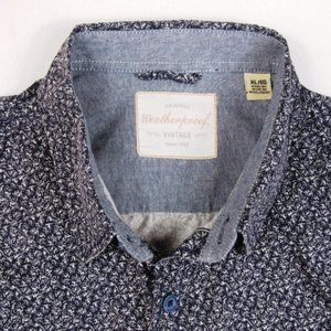 Weatherproof Vintage Mens Size XL Casual S/S Shirt